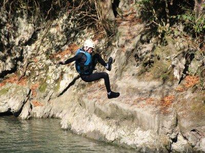 Sortie canyoning en demi-journée à Gavarnie-Gèdre