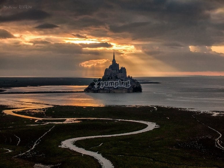 Vue sur le Mont-Saint-Michel