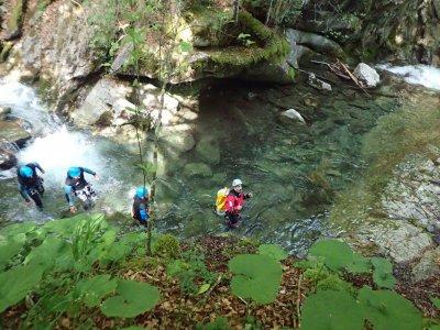 Journée canyoning vers la Vallée d'Ossau