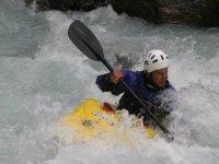 Kayak sur le Veneon