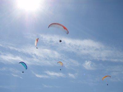 Vol en parapente sur la dune du Pilat (10-15mins)