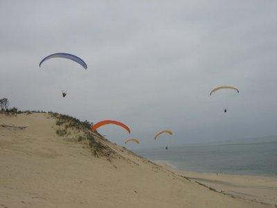 Vol en parapente sur la dune du Pilat + Vidéo