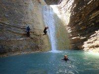 Sortie oxygène de canyoning demi-journée à Laruns