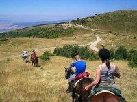 Balade a cheval dans la Savoie