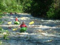 Faire du kayak pres de Ollainville