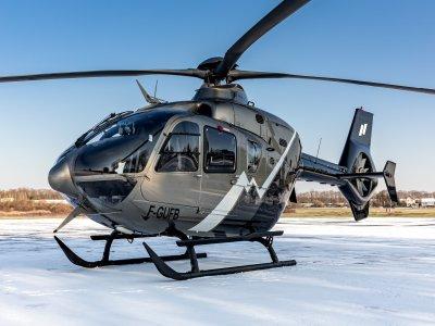 Vol en hélicoptère de 20min - Mont-Blanc de Megève