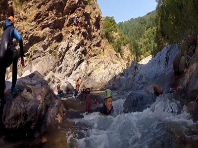 Randonnée aquatique aux Gorges de la Dourbie (3h)