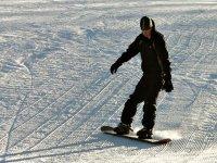 Decouverte du snowboard