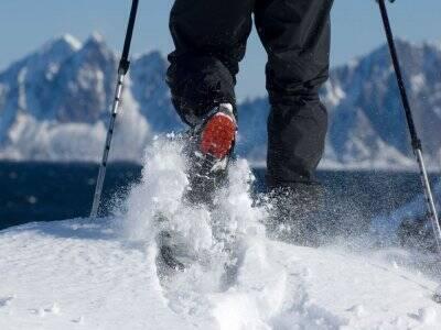 Randonnée en raquettes à neige aux pyrénées - 1/2J