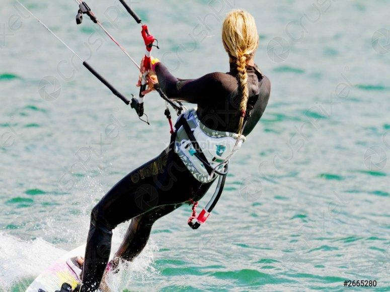 Initiation au kitesurf downwind