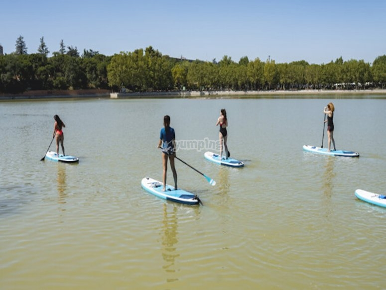 Paddle Surf dans le Languedoc Roussillon