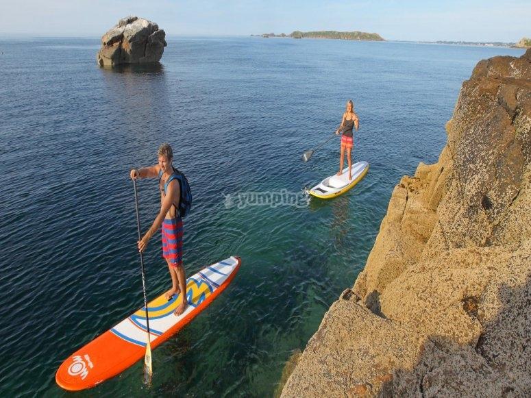 Stand up paddle à l'Aude