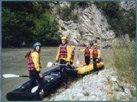 Cano Raft a Castellane