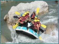 Rafting  a Castellane