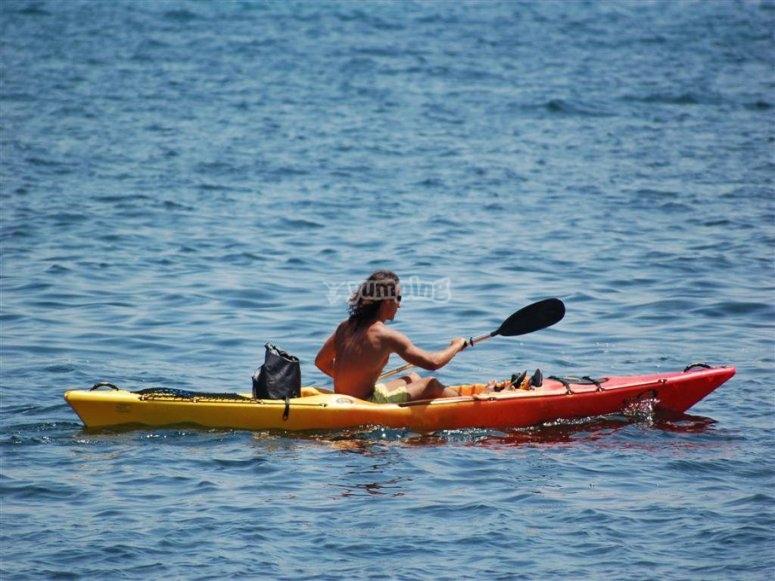 Kayak: entre le sport et la détente