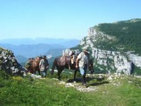 Montee equestre