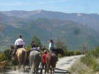 Sortie a cheval vers St Nazaire le Desert