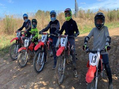 Sortie découverte en motocross à Quihanet 1h30