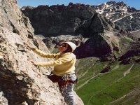Escalade sur les rochers du Pont d Espagne