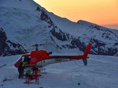 Vol en hélicoptère de 60 MIN au Mont Cervin