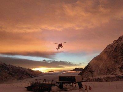 Vol en hélicoptère de 1H 15 MIN au Mont Rose