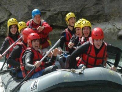 Rafting en Ubaye - L'Intégrale - 1/2 Journée