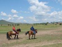 Faire du cheval a la montagne