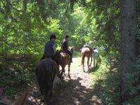 Sortie Equestre Les Rousses