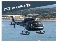 Bapteme de l offre avec Oya Vendee Helicopteres