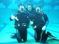entrainement plongee en piscine a Coutances