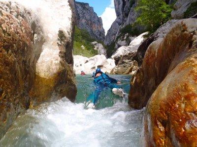 Sortie canyoning aux gorges du Verdon 1Journée