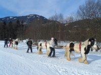 Balade ski joering a Morillon