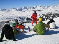 Cours de snowboard Queyras Alpes du Sud