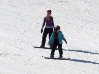 Snowboard et cours particuliers Station village Abries