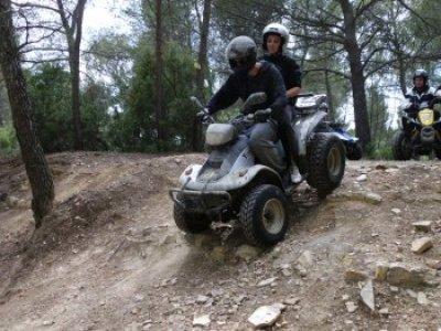 Quad en Provence 3h - Pilote