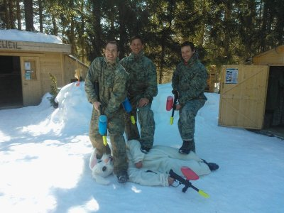Aravis Paintball Mountain Park