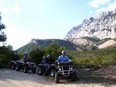 Circuit Touristique Quad Provence 2h - 2 Personnes