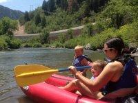 Kayak en Diois