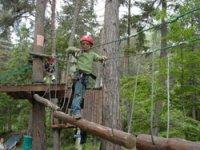 Parcours Aventure enfants dans la foret de Villette