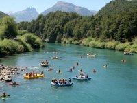Au depart des parcours rafting et eau vive