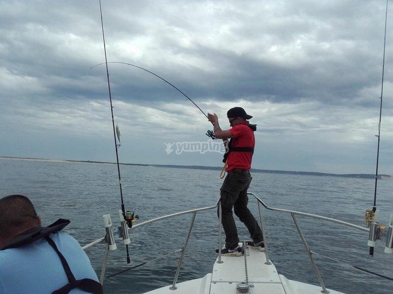 Pêche à Arcachon