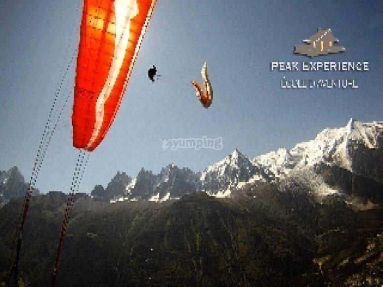 Vols en Parapente a Chamonix