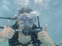Bapteme de plongee a la piscine de Fronton