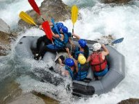 Rafting dans l'Ubaye