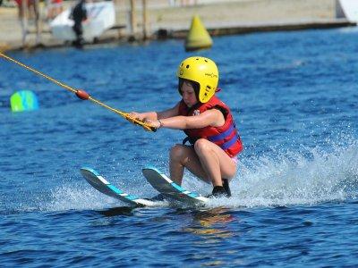 Ski nautique à l'étang de Leucate -1H Enfant