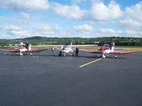 Les avions du club