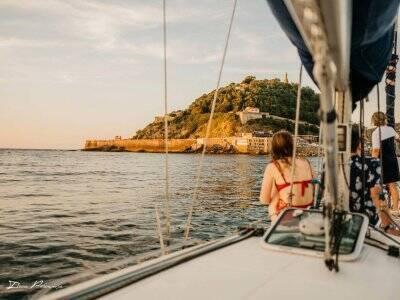 Balade en voilier vers la Baie du figuier -2h