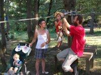 Activites pour les enfants dans le parc