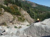 Toboggans naturels et canyoning facile