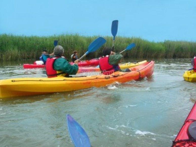 Vive le kayak en Gironde